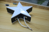 Luz programável do diodo emissor de luz do RGB da luz da fonte de ponto da estrela do diodo emissor de luz de IP67 15cm
