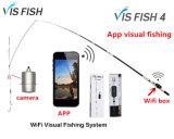 2017 neues drahtloses Ios&Android APP-Steuersicht-IP-Fischen-Fisch-Sucher-Kamera Visfish 4