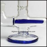 파란 인라인 Perc 및 파란 둥근 기초를 가진 유리제 연기가 나는 관 새로운 11.5 인치 Illadelph 최고 질