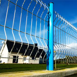 O zinco revestiu o painel soldado da cerca de fio feito em China