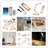 Dimmable Portable LED Desk Lamp Rotação de 360 ​​graus DIY Folding