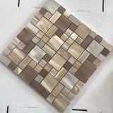 Mosaico de cobre novo da telha de Backsplash do aço inoxidável do metal da resina de Preminum
