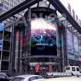 Visualización de LED a todo color al aire libre del vídeo P6.67 para hacer publicidad de la pantalla