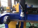200mm Durchmesser-runde Rohr CNC-Plasma-Ausschnitt-Maschine mit Bock-Typen Kr-Xys