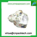 결혼식 호의를 위한 심혼 모양 엄밀한 마분지 포장 종이상자