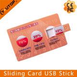 Impression colorée Carte glissante USB Pen Pen Drive (YT-3115)