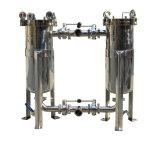 Edelstahl-Wasser-Duplex-Ähnlichkeits-Beutelfilter-Gehäuse
