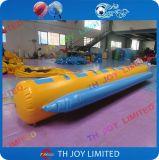 6 juguetes inflables inflables del agua de los barcos de plátano del agua de Seaters para los adultos