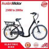 batería ocultada 26inch Ebike, E-Bici de la ciudad, ciudad gorda Ebike de 250W 350W 500W del neumático