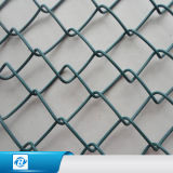 Ligação Chain revestida galvanizada personalizada do PVC que cerc a cerca para a exploração agrícola