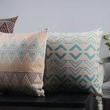 Almohadillas de lino del acento de la pulgada de la impresión 18X18 del algodón para el sofá