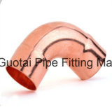 Codos forjados cobre de la autógena de las instalaciones de tuberías