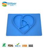 Placemat de venda quente -- Placa resistente do bebê do silicone do enxerto de uma peça só & Placemat & esteira de tabela