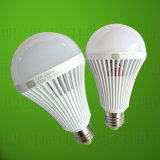 luz de bulbo de 12W LED recargable