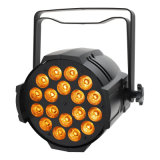 Indicatore luminoso di PARITÀ di PAR64 18X10W RGBW 4in1 LED