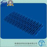banda transportadora modular plástica levantada M2531 de la costilla de la echada de 25.4m m