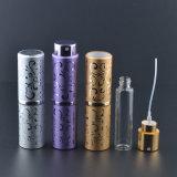 Botella de perfume de cristal de aluminio caliente de las ventas 15ml