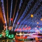 Luzes de venda maiorias do ornamento do Natal do sincelo do indicador para a decoração do jardim
