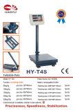 300 kg Balance compteuse de plate-forme avec Pliable Pole