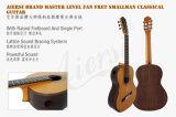 Fret Smallman вентилятора Aiersi выполненный на заказ классическая гитара (SC098SPFFF)