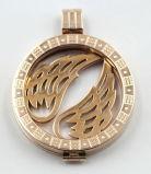 Nam het Gouden Medaillon van het Geheugen voor de Juwelen van de Halsband van de Manier toe