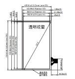 Панель касания Capactitive 32 дюймов с структурой Glass+Film+Film