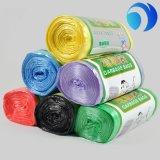 ロール製造者の習慣によって印刷されるHDPEのプラスチックごみ袋のタイプ
