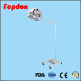 Luz cirúrgica móvel da operação Shadowless com bateria (YD01-4E)