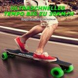 USA und Europa-Lager 40km/H verdoppeln Naben-Bewegungselektrisches Skateboard mit Samsung-Batterie