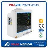 Pdj-5000 2017 최신 판매 병원 15.1 인치 휴대용 참을성 있는 모니터
