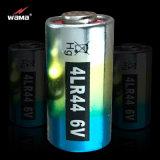 高品質4lr44 6Vのアルカリ電池