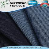 Twill Jean do poliéster do algodão do Spandex do algodão que faz malha a tela feita malha da sarja de Nimes para calças