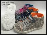 Los últimos zapatos del ocio de los zapatos de lona de los niños del diseño (HH411-19)