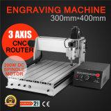 Gravador do router do CNC 3040t/perfuração da gravura e máquina de trituração de madeira