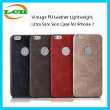 iPhone 7 аргументы за кожи легковеса PU сбор винограда кожаный ультра тонкое