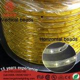 Blanco amarillo impermeable el 100m del LED 60 pies del LED de luz de la cuerda para la decoración de Buliding