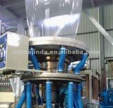 A máquina de sopro da película da co-extrusão com Reboca-fora o dispositivo (SJ-500-1500)