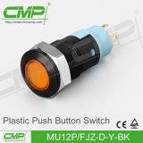 12mm 플라스틱 단추 스위치 (MU12P-FJZ-D-R-BK)