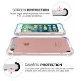 """iPhone 7 plus Geval van de Dekking van het Geval het schok-Absorberende kras-Bestand met de Transparante Harde AchterPlaat van PC en de Flexibele Bumper van het Gel TPU voor iPhone 7 van de Appel plus 5.5 """" 20"""