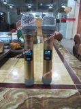 Frequenz-Doppeldrahtloses Handmikrophon UHFDx38