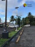 неразъемный солнечный уличный фонарь сада 20W с регулируемой панелью