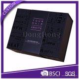 Embalaje de alta clase Spot UV cartón caja de regalo para el pelo con la manga