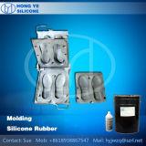 Caucho de silicona líquido para la fabricación de moldes para zapatos