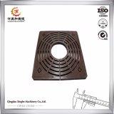 OEMの正方形カバー鋳鉄の木の火格子