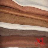 Veloursleder-Polyester-Gewebe 100% für Möbel/Gewebe
