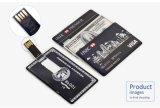 Bastone promozionale 128MB 512MB 1GB 2GB del USB della carta di credito del regalo