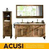 Nuevo mueble de madera maciza del cuarto de baño de la vanidad del cuarto de baño del estilo simple americano superior simple (ACS1-W22)