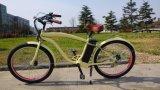 Vélo électrique de ville du modèle 250W de batterie au lithium d'homme de croiseur neuf de plage