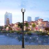 Lumière de Pôle léger actionnée solaire électrique de jardin de Guangzhou DEL