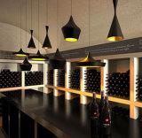 Neue hängende speisende Vorrichtung beleuchtet industriellen Leuchter-Lampen-Aluminiumfarbton